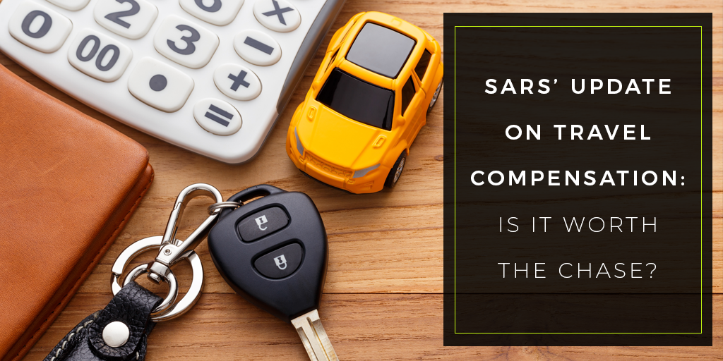 SARS Travel Compensation: Car Allowance or Company Car?