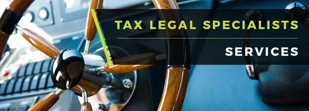 Tax Legal Specialist Services