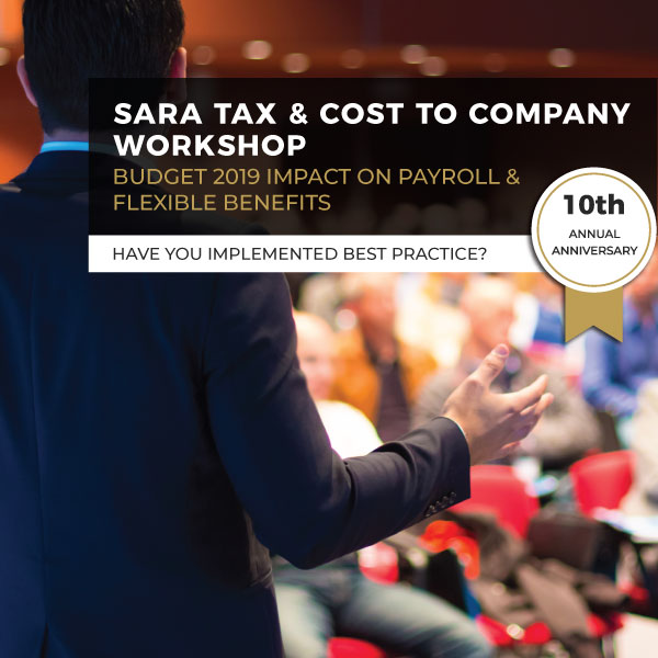 SARA Tax And Cost To Company Workshop