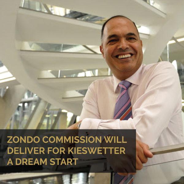 Zondo Commision Will Deliver For Kieswetter A Dream Start
