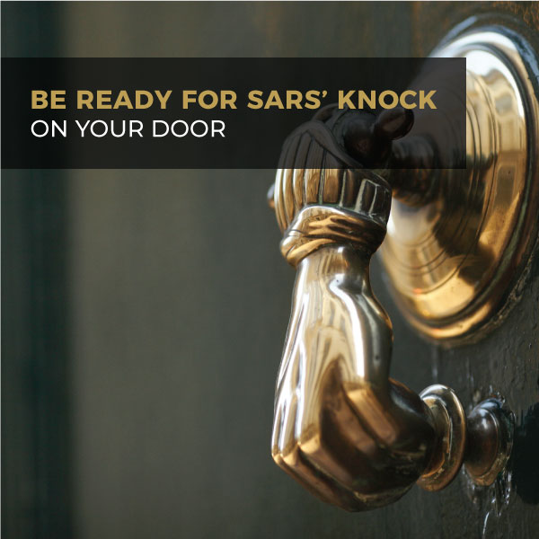 Be Ready For SARS' Knock On Your Door
