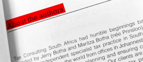 Expatriate Tax Textbook - About the authors
