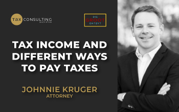 Tax income and different ways to pay taxes