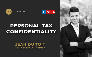 Personal Tax Confidentiality