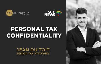 Persona Tax Confidentiality