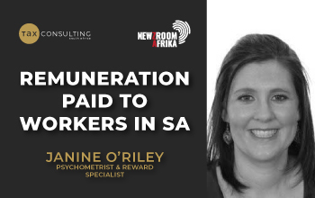 Remuneration paid to workers in South Africa