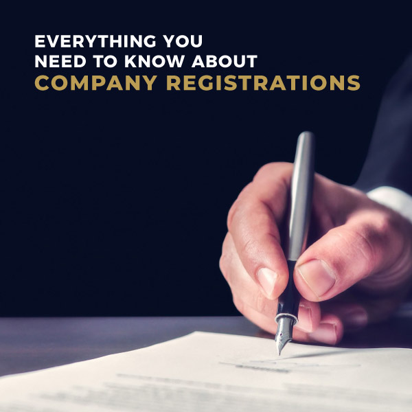 Everything you need to know about company registrations
