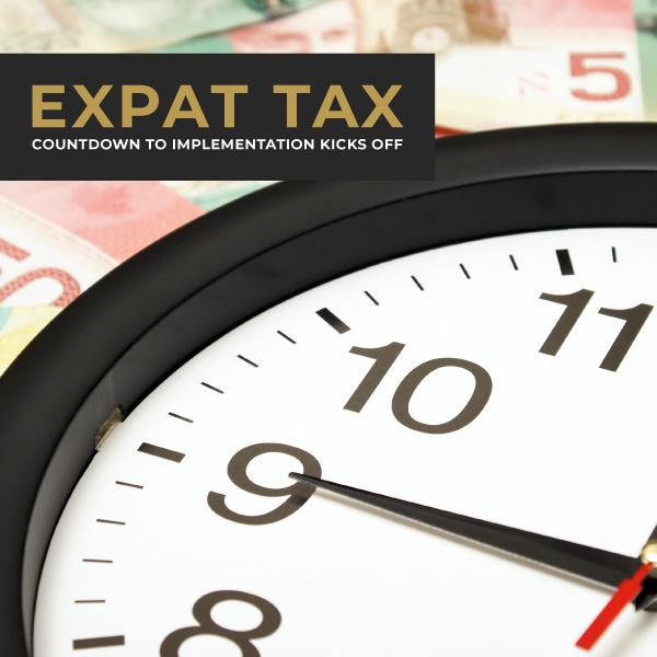 Expat tax countdown to implementation kicks off