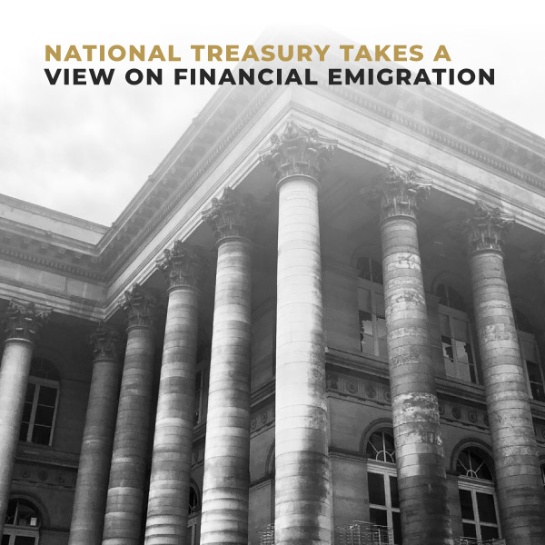 National Treasury Takes a view on Financial Emigration