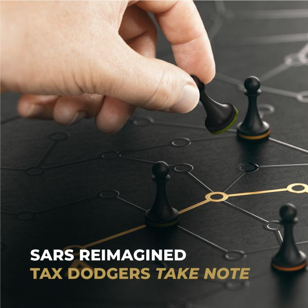 SARS Reimagined Tax Dodgers Take Note