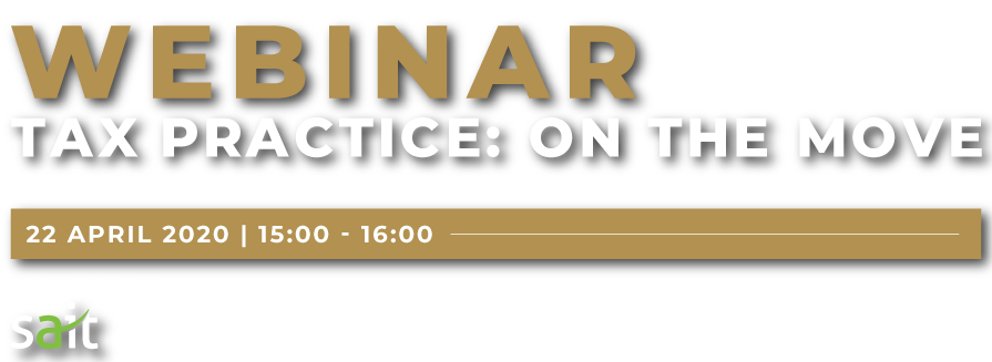 SAIT-Webinar 2020 Tax Practice On The Move