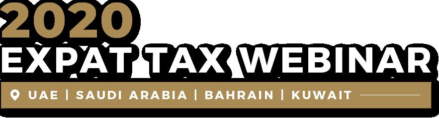 Webinar Expat Tax 2020