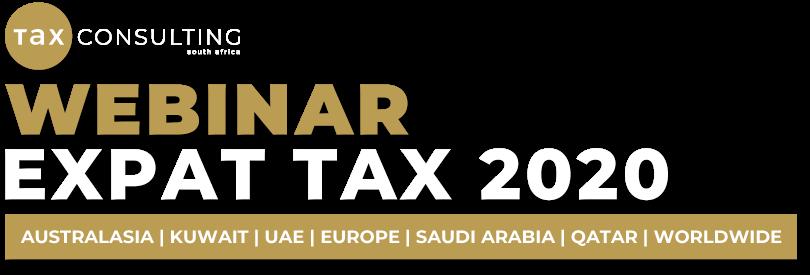 Expat Tax 2020 Webinar