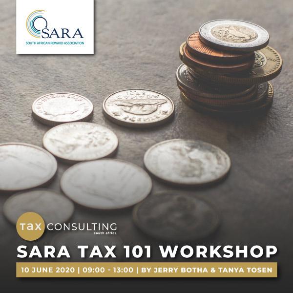 SARA Tax 101 Workshop