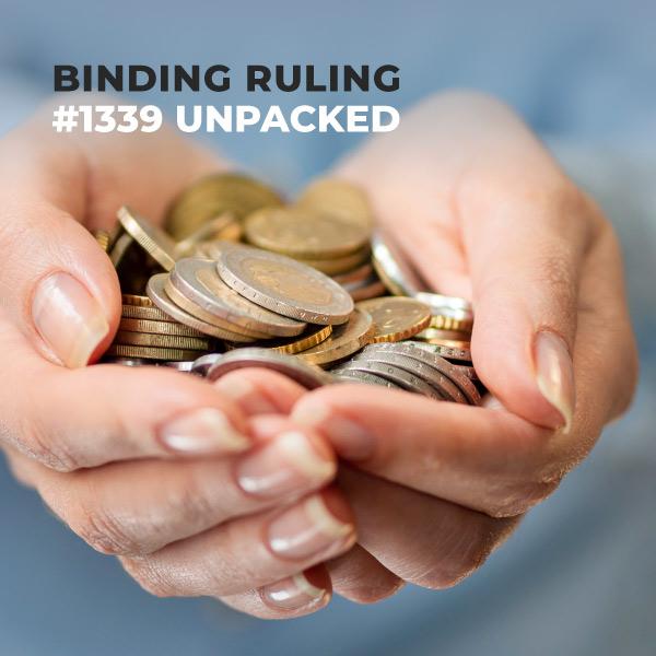 Binding Ruling #1339 Unpacked