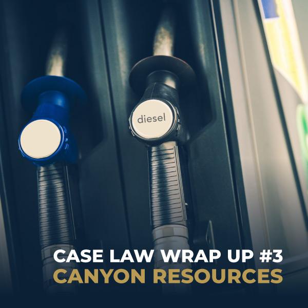 Case Law Wrap Up #3