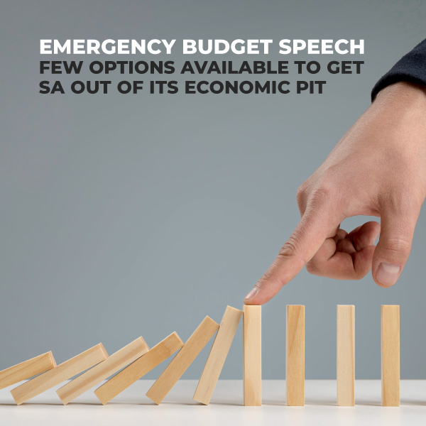 Emergency Budget Speech
