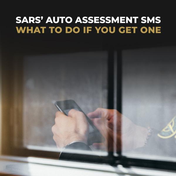 SARS Auto Assessment SMS