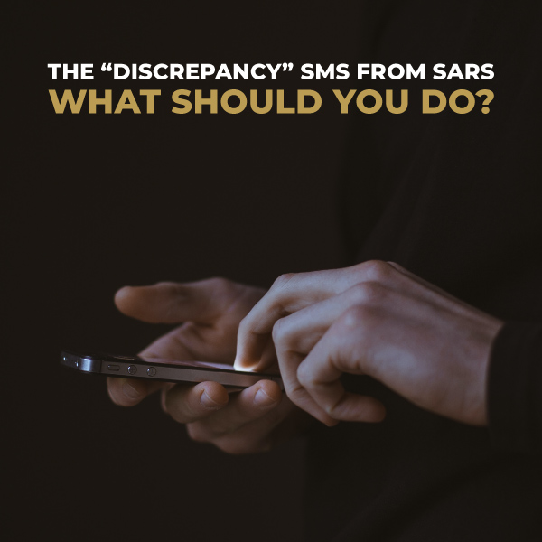 The Discrepancy SMS From SARS