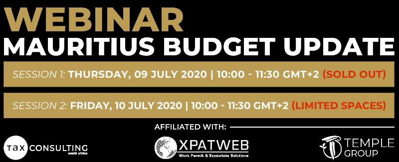 Mauritius Budget Update Webinar