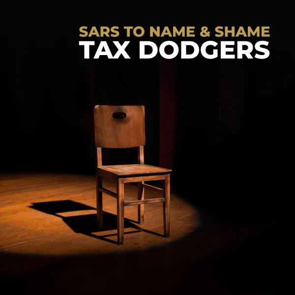 SARS To Name And Shame Tax Dodgers