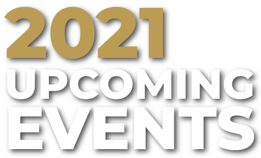 2021 Upcoming Events