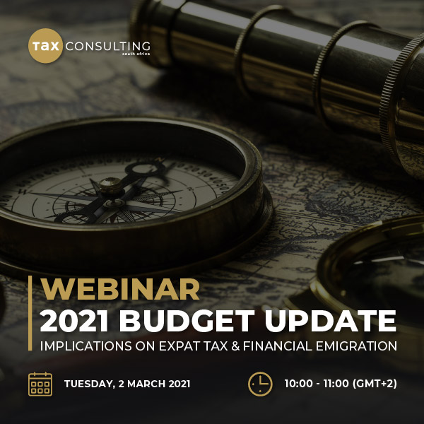 2021 Budget Speech Implications on Expat Tax and Financial Emigration