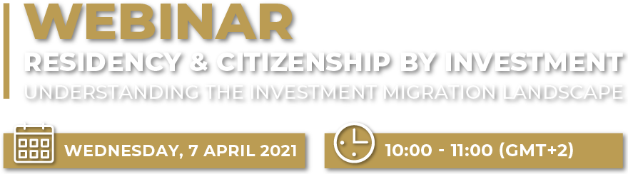 Residency and Citizenship by Investment-TC