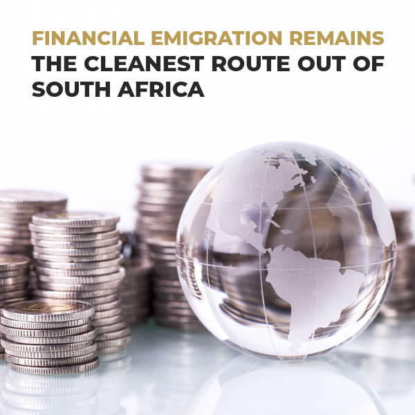 Financial Emigration Remains The Cleanest Route Out Of South Africa
