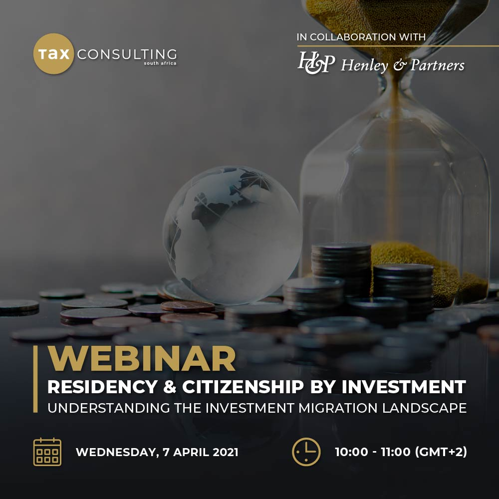Residency and Citizenship by Investment