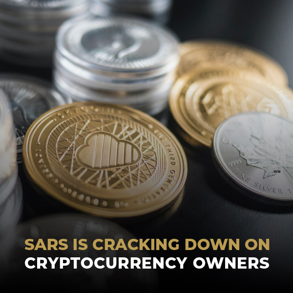 SARS Is Cracking Down On Cryptocurrency Owners