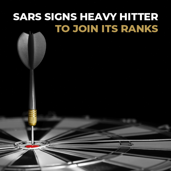 SARS Signs Heavy Hitter To Join Its Ranks
