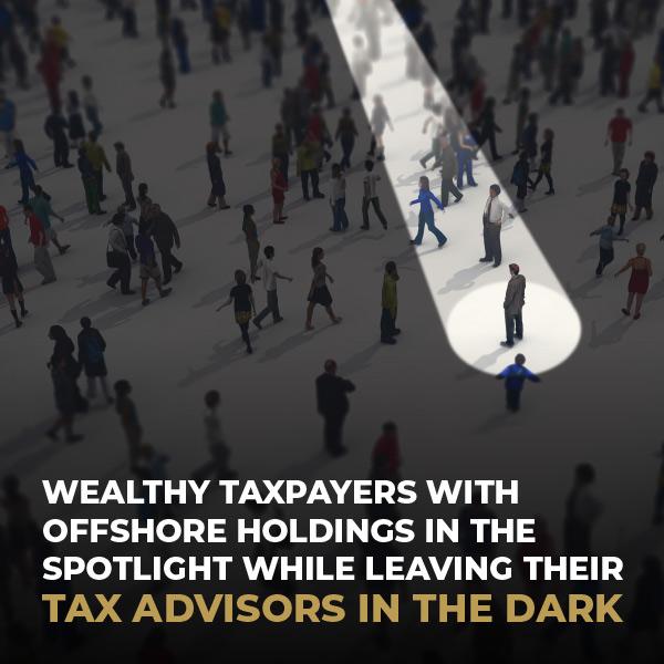 Tax Advisors In The Dark