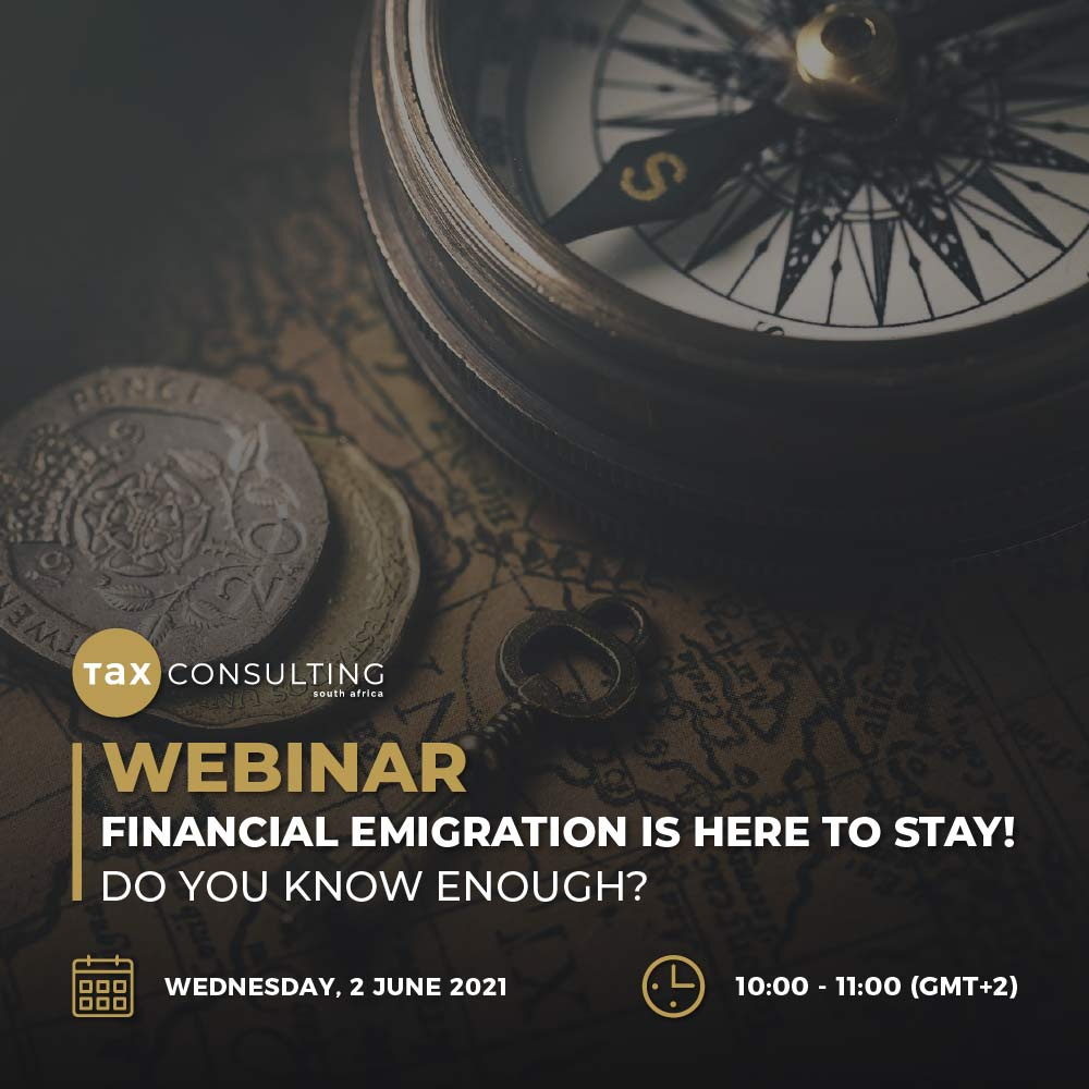 Financial Emigration is here to stay-Webinar