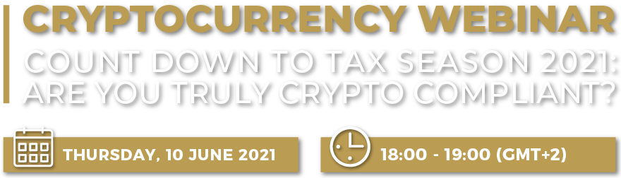 Cryptocurrency-Count Down To Tax Season 2021